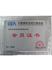 理想物流:中国国际货运代理协会